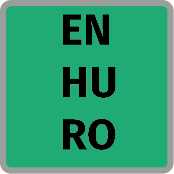angol magyar és román nyelv