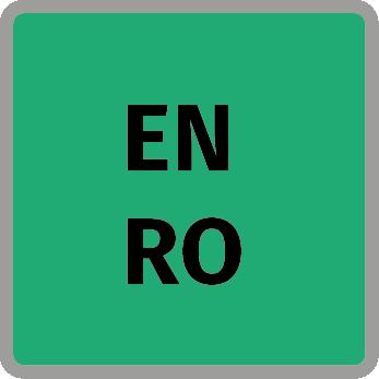 angol és román nyelv