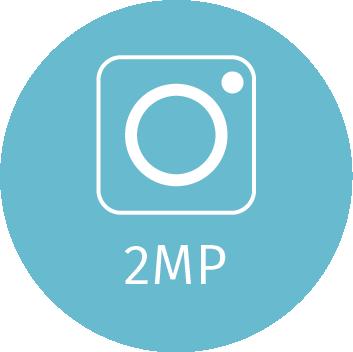 2 MP kamera